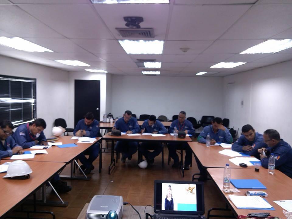 Capacitación de personal en Venvidrio